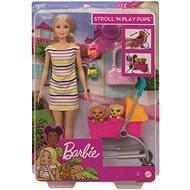 Barbie-Puppe Spaziergang mit Hund - Puppe