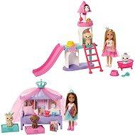 Barbie Princess Adventure Prinzessin Chelsea Spiel-Set - Puppe