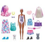 Barbie color reveal Barbie mit Haustier - Puppe