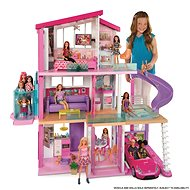Barbie Traumhaus mit Rutsche und neuem Aufzug - Puppe