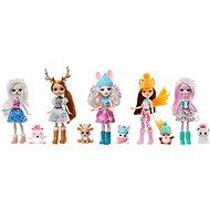Enchantimals 5 Stück Winter-Puppe mit Tier - Puppen