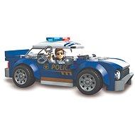Mega Bloks Polizeifahrzeug - Bausatz