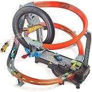 Hot Wheels Hyper Boost Tyre Shop - Autorennbahn