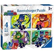 Ravensburger 050581 PJ Masks- Pyjamahelden 4 in 1