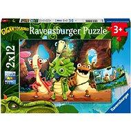 Ravensburger 051250 Gigantosaurus 2x12 Stück - Puzzle