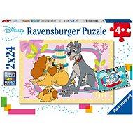 Ravensburger 050871 Disney Märchen 2x24 Stück