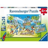 Ravensburger 050895 Piraten 2x24 Stück