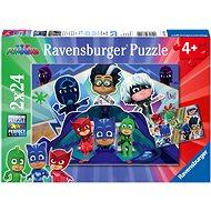 Ravensburger 078240 PJ Masks - Pyjamahelden 2x24 Stück