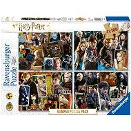 Puzzle Ravensburger 068326 Harry Potter Set 4x100 Stück