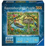 Ravensburger 129249 Exit KIDS Puzzle: Dschungel 368 Teile - Puzzle