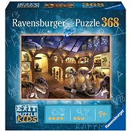 Ravensburger 129256 Exit KIDS Puzzle: Nacht im Museum 368 Teile - Puzzle