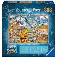 Ravensburger 129263 Exit KIDS Puzzle: Vergnügungspark 368 Stück - Puzzle