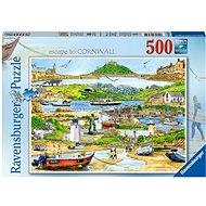 Ravensburger 165742 Flucht nach Cornwall 500 Stück - Puzzle