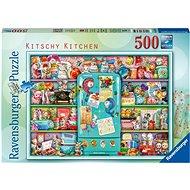Ravensburger 165759 Cheesy Küche 500 Stück - Puzzle