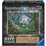 Ravensburger 150304 Exit Puzzle: Einhorn 759 Stück - Puzzle