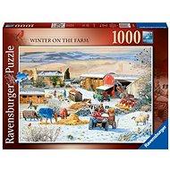 Ravensburger 164783 Winter auf einem Bauernhof 1000 Stück