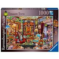 Ravensburger 165766 Schatztruhe mit 1000 Stück - Puzzle