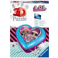 Ravensburger 3D 112333 L.O.L. Herz 54 Stück - Puzzle