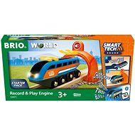 Brio World 33971 SMART TECH SOUND Lok mit Aufnahmefunktion - Modelleisenbahn
