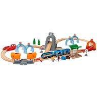 Brio World 33972 SMART TECH SOUND Reiseset mit Tunneln - Modelleisenbahn