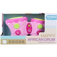 Babytrommel Happy African Drum - batteriebetrieben - Musikspielzeug