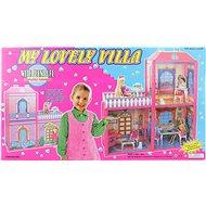 My Lovely Villa - Kleines Puppenhaus mit Möbeln - Puppenhaus