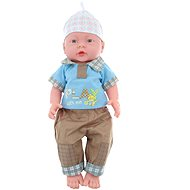 Baby Boy - Junge - mit Tasche - Puppe
