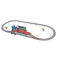 Power Train World Eisenbahn-Set - Zug, Gleise und Bahnhof - Modelleisenbahn