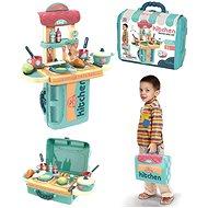 Küche mit Zubehör im Koffer - Kinderküche