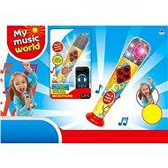 Batteriebetriebenes Mikrofon (iPad, MP3) - Musikspielzeug