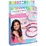 Make It Real Rainbow Bling Bracelets - Armbänder mit Strass - Schmuckherstellungsset