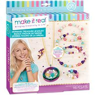 Make It Real Mermaid Treasure Jewelry - Halskette und Armbänder, Medaillon - Schmuckherstellungsset