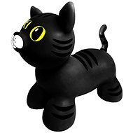 Jumpy Katze schwarz - Hüpfball/Hüpfstange