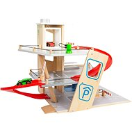 Small Foot Premium 7 Stück Parkplatz - Holzspielzeug