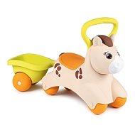 Smoby Laufrad Pony mit Karre - Laufrad/Bobby Car