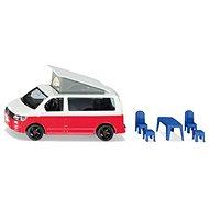 Siku Super - VW T6 California mit beweglichem Dach und Zubehör - Metall-Model