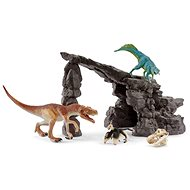 Schleich 41461 Dinoset mit Höhle - Figur