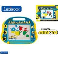 Spielset Lexibook Minions Magnetisches Zeichenbrett mit Zubehör