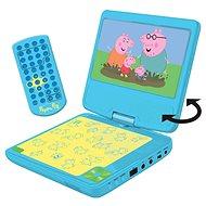 Lexibook Peppa Pig Tragbarer DVD-Player 7 mit drehbarem Bildschirm und Kopfhörern - Musikspielzeug