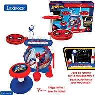 Lexibook Spider-Man Set elektrische Trommeln mit Sitz - Musikspielzeug