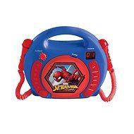 Lexibook Spider Man Tragbarer CD-Player mit 2 Mikrofonen - Musikspielzeug