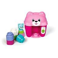 Clementoni Clemmy Baby Eimer mit Würfeln Kätzchen - Spielzeug für die Kleinsten