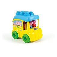 Clementoni Clemmy Baby - Peppa Pig - Schulbus - Spielzeug für die Kleinsten
