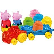 Clementoni Clemmy Baby - Peppa Pig - Zug mit Würfeln - Spielzeug für die Kleinsten
