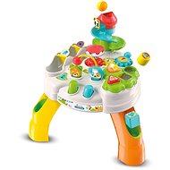 Clementoni Clemmy Baby - Fröhlicher Spieltisch mit Würfeln und Tieren - Spielzeug für die Kleinsten