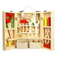 30 Holzwerkzeuge in Holzkiste - Kinderwerkzeug