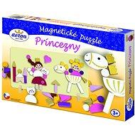 Didaktisches Spielzeug Magnetpuzzle Prinzessin