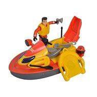 Simba Feuerwehrmann Sam Juno Jetski mit Figur - Schiff