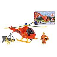 Simba Feuerwehrmann Sam mit Hubschrauber und Figur - Hubschrauber mit Fernsteuerung