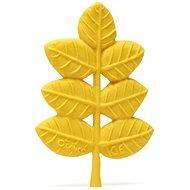 Lanco - Beissring in Blattform goldfarben - Spielzeug für die Kleinsten